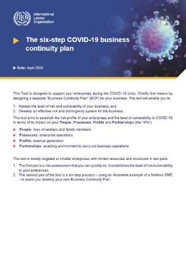 Covid 19 The Six Step Covid 19 Business Continuity Plan